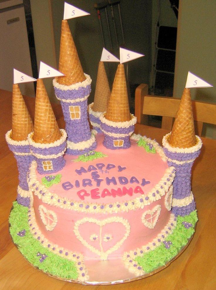 "round castle cake | Little girls love the Castle Cake. A 10"" round Chocolate Mocha cake ..."