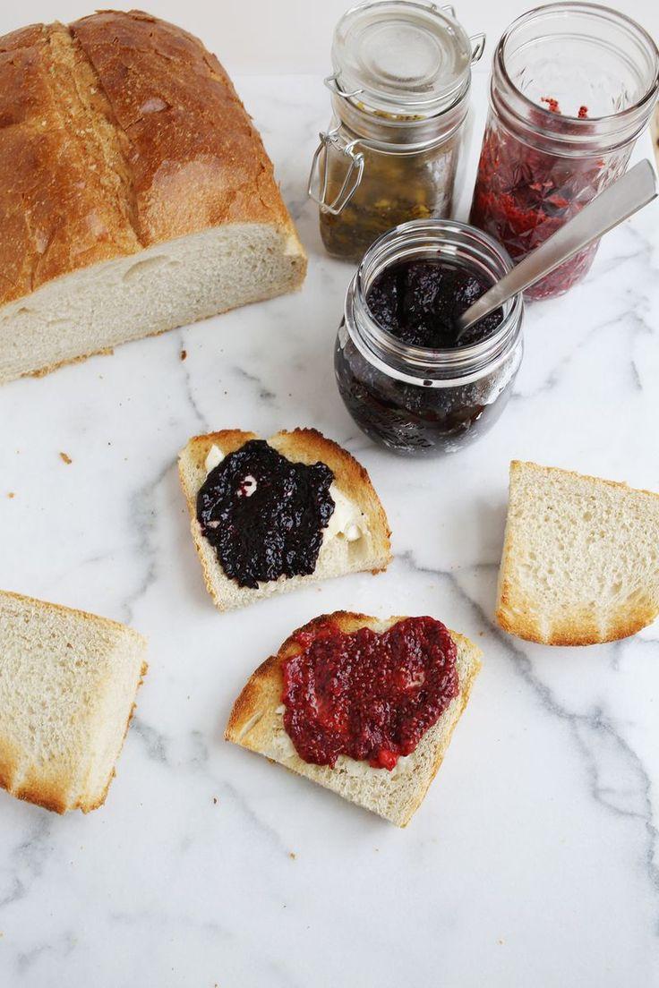 Easy Homemade Chia Seed Jam (via abeautifulmess.com)