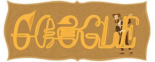 Adolphe Sax's 201st Birthday | Google Doodle 11/06/2015