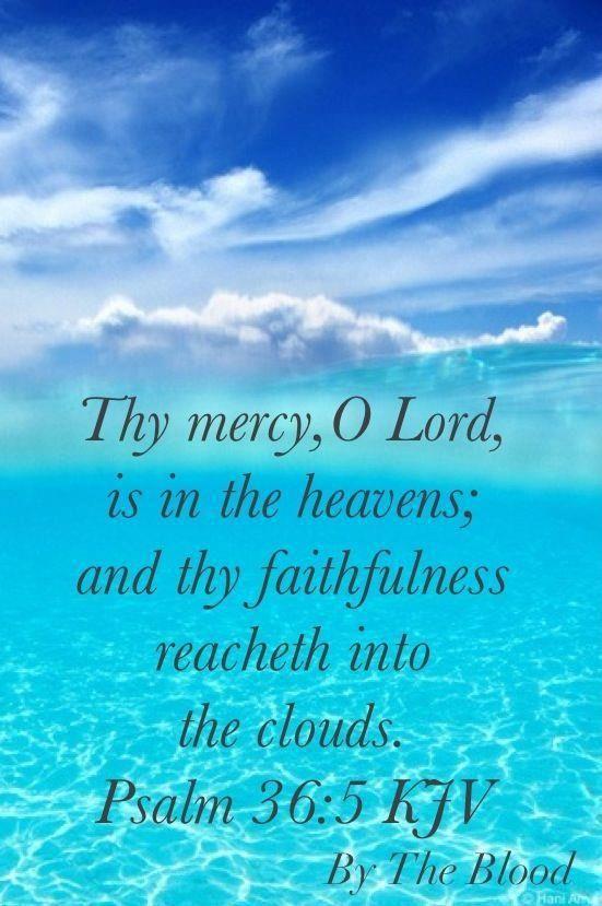 PSALM  36:5