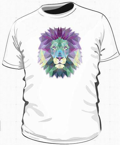 kolejny wzór na koszulki z cyklu zwierzęta na ciekawych grafikach.