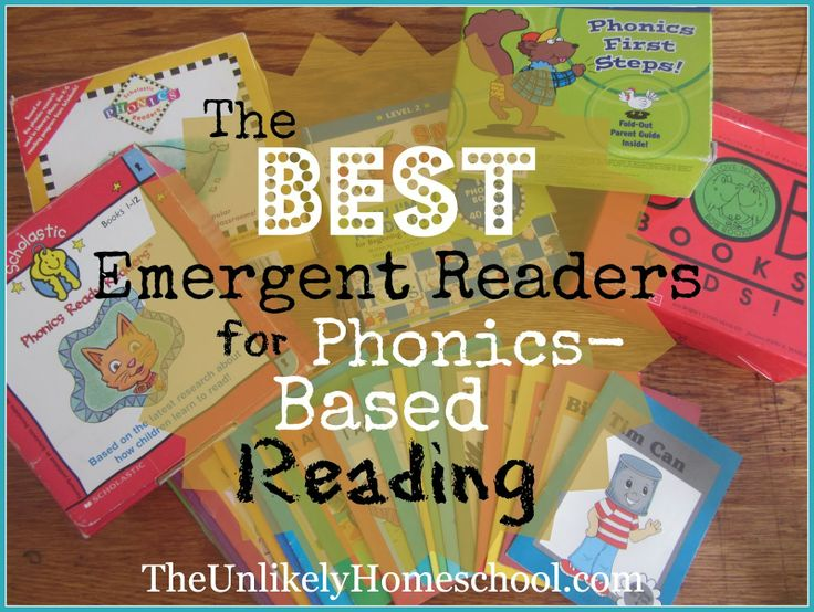 The Unlikely Homeschool: The BEST Emergent Readers for Phonics-Based Reading