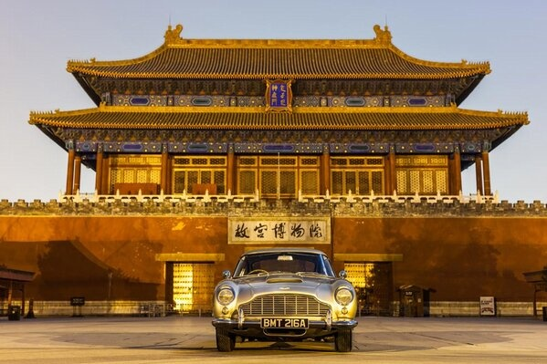 db5 in chinaMartin Celebrities, Astonmartin, Forbidden Cities, Db5 Forbidden, Martin Magazines, Aston Martin Db5, British Brand, Bond Db5, Aston Db5