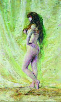 """Lily of the Valley"" Wladyslaw Podkowinski 1866-95"