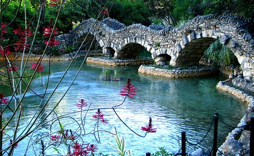 Japanese Tea Garden, Brackenridge Park, San Antonio, Texas
