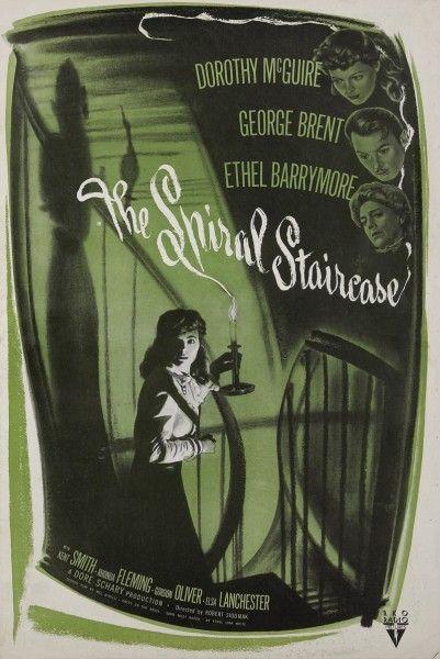 «Винтовая лестница» США, 1945. Реж. Роберт Сьодмак.