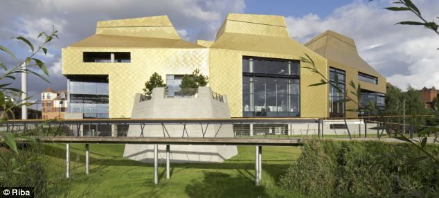 The sustainable Hive library built on the Worcester university campus, UK *