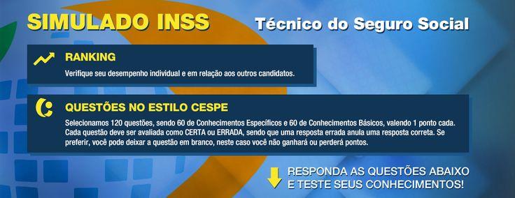 Gabarito - Simulado - INSS CESPE