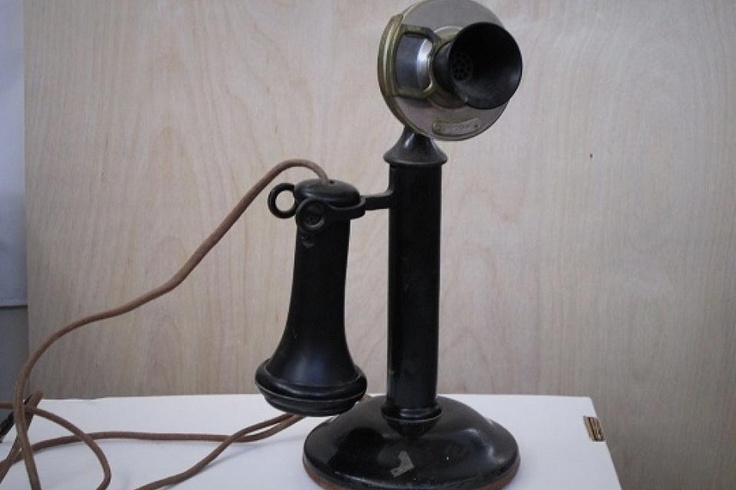 $200 - Working Candlestick Phone #hip: Phones Hip, Antiques Phones, Silver Pawnshop, Buy Work, Work Candlesticks, Candlesticks Phones, Antique Phone, Vais Avoir, Je Vais
