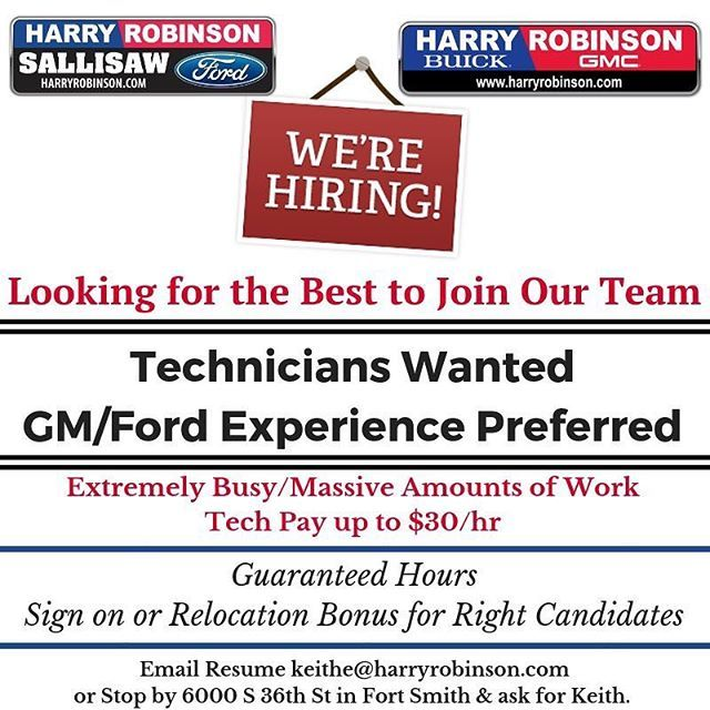 Please Share As A Harry Robinson Automotive Family Employee You
