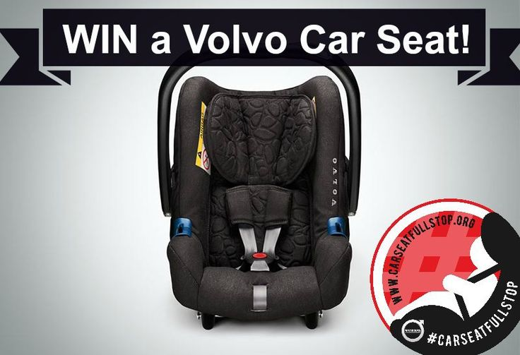 Win a Volvo car seat -Volvo Infant Seat Review...