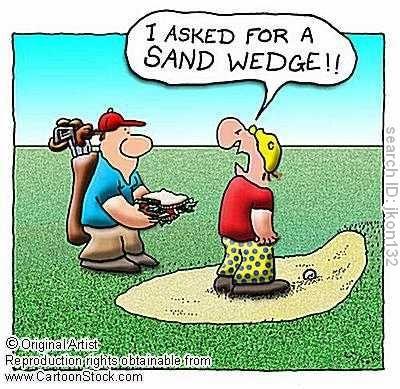 An honest mistake! #golf