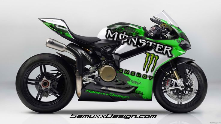 Ducati Panigale Monster Energy