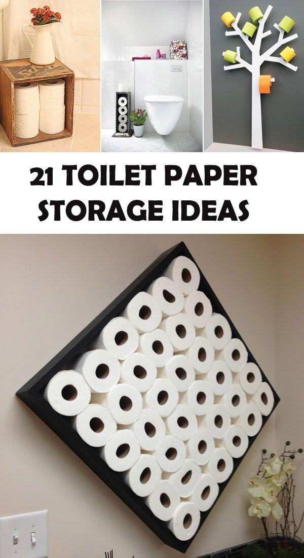 21 Best Toilet Paper Storage Ideas