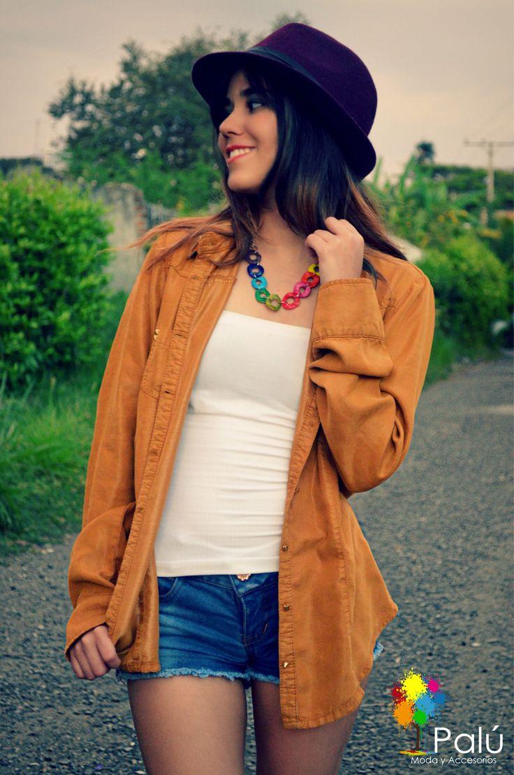 Collar circulos multicolor, disponible para venta inmediata, hacemos ENVIOS A TODO COLOMBIA Whatsapp: 3005798722 Pin: 7A7A2416