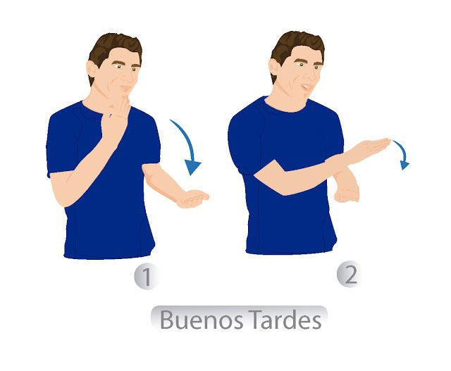 """47 """"BUENAS TARDES"""" LENGUA DE SEÑAS COLOMBIANA (LSC)"""