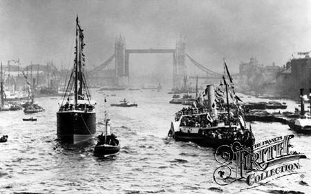 Opening of Tower Bridge 1894, London