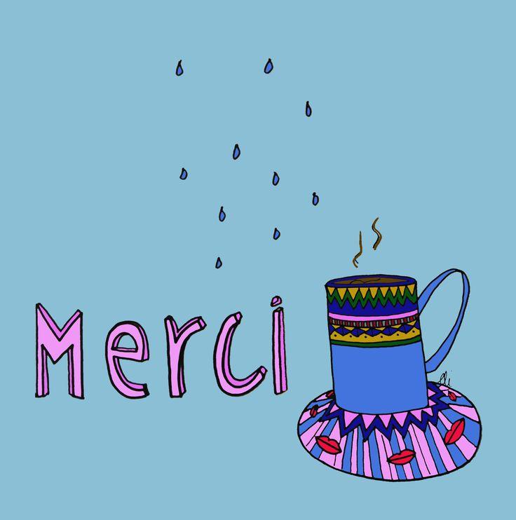 coffee monday illustration julia grit