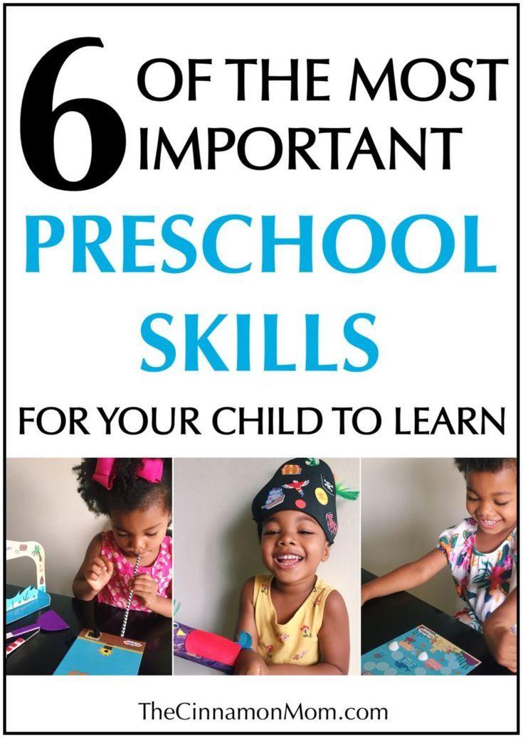 Preschool Skills Home School Kindergarten Readiness Kid Wonder Box