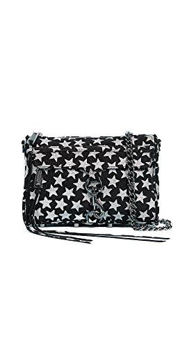 b6f64d4a Rebecca Minkoff Women's Glitter Star Mini Mac Cross Body Bag, Black, One  Size >>> Continue with the details at the image link.