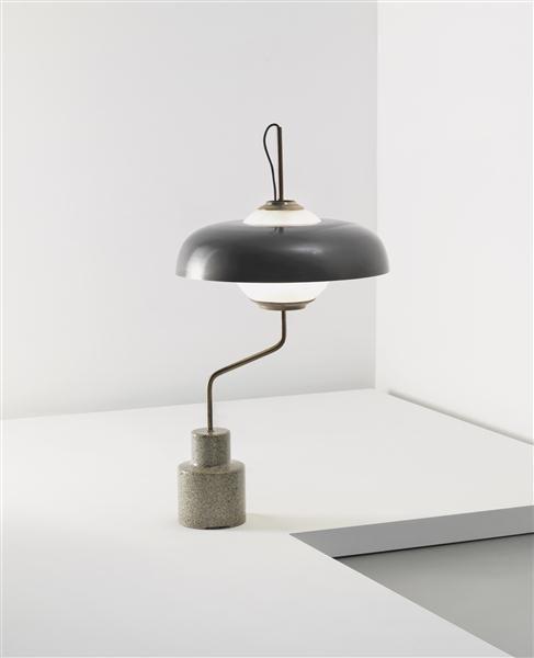Luigi Caccia Dominioni; 'Mikado' Table Lamp for Azucena, 1962.