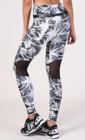Palm Tree Leggings for working out #fitspo #workoutleggings