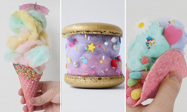 Sydney-based fairy floss company, Fluffë, gives a new meaning to eye candy. Founder Nathan Hunter makes a selection of impressive flossy treats - from burger and taco replicas to milkshakes.