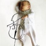 Mother Turns Sleeping Baby Into A Work of Art