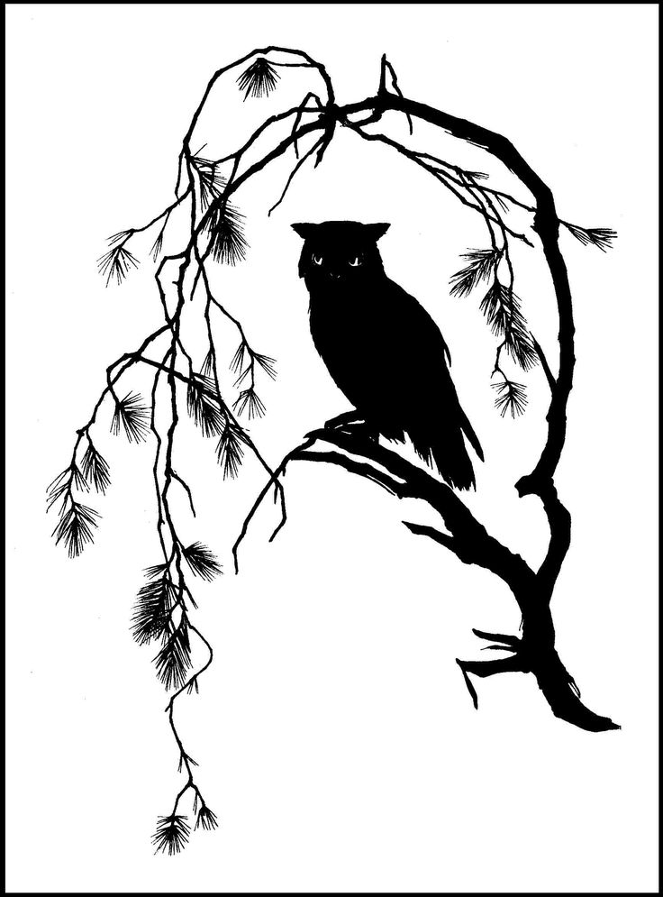silhouette - Scherenschnitt