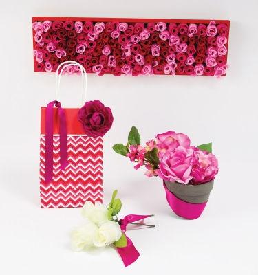 #Valentine's Floral Decor