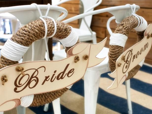 DIY Network has clever ideas, projects and practical tips for throwing a stylish coastal-style bridal shower.