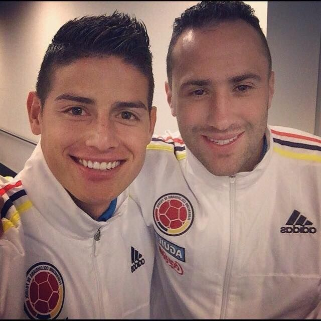 James and his brother in law, Ospina 2015