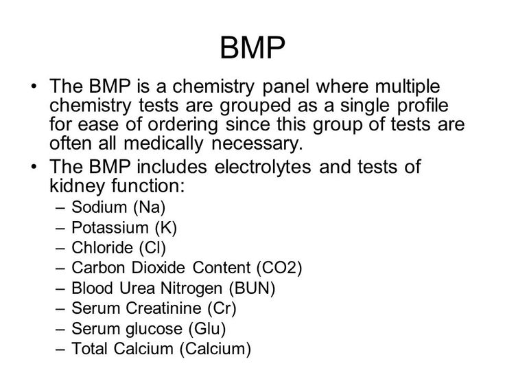 Basic Metabolic Panel Aka Chem 7 Chemistry Metabolism Basic