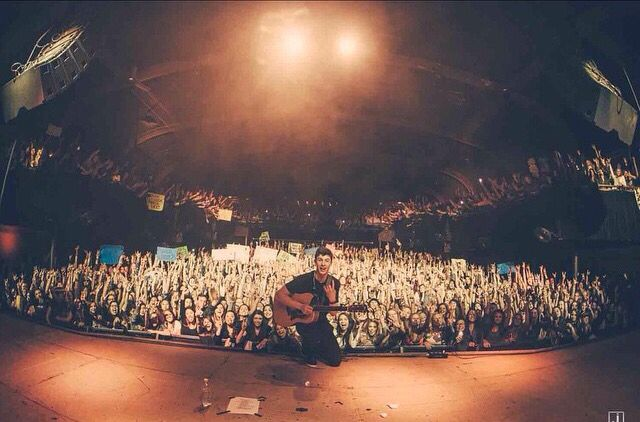 Shawn in Denver tonight it was perfect and he did amazing