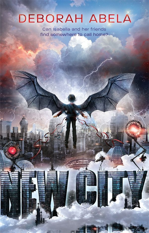 New City by Deborah Abela - Good for the kids and a quick read for me
