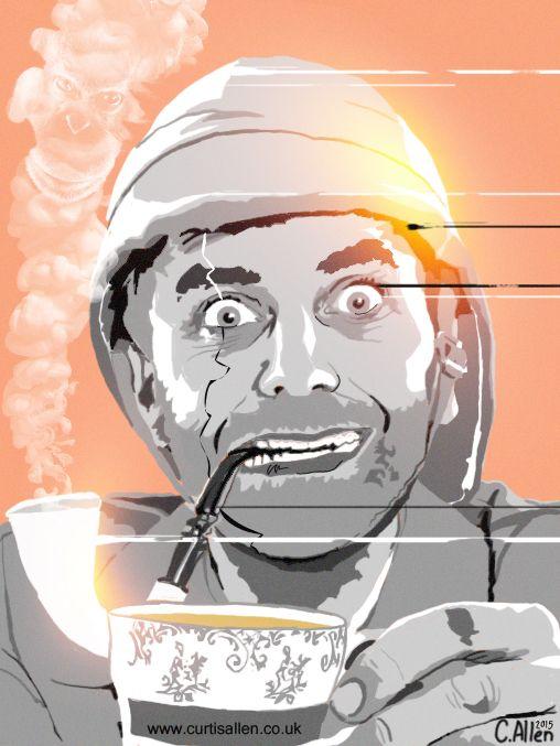 Steampunk and chap-hop legend, Professor Elemental by Curtis Allen