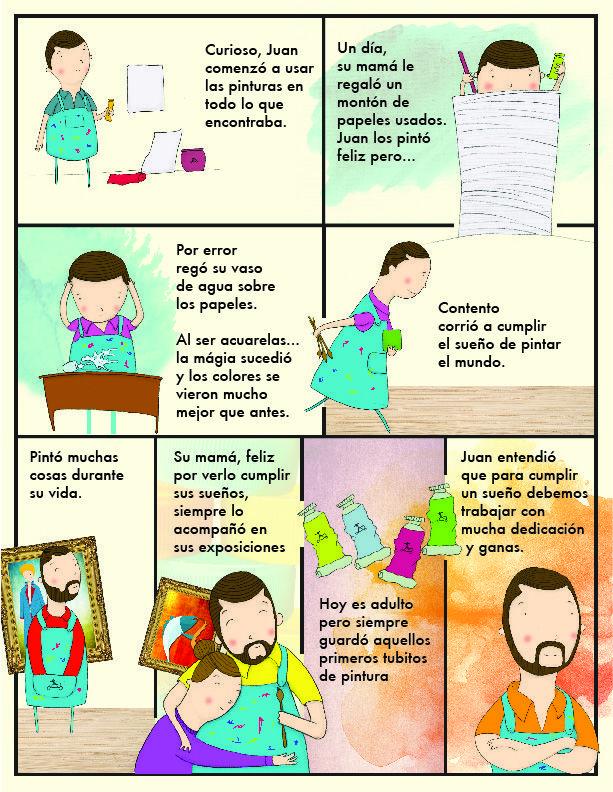 La historia de Juan. 2/2 Revista Avianca Kids ed. junio 2014 Publicaciones Semana