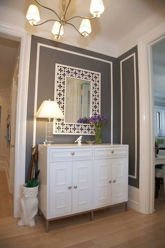 details in the entry  Although, I'm not a fan of a white mirror, this looks extremely pretty.  CFB