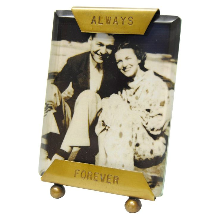 Sugarboo Designs Glass Frame Always Forever. #laylagrayce #valentinesday #gifts $28.00