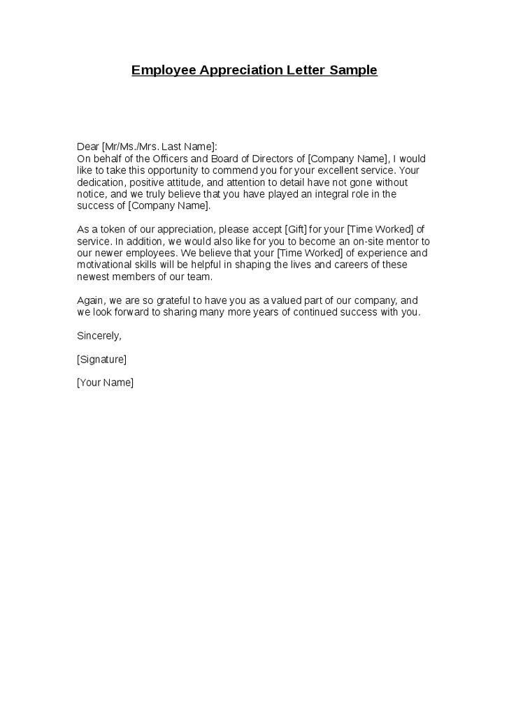 Captivating 25+ Unique Appreciation Letter To Boss Ideas On Pinterest New   Appreciation  Letter Doc