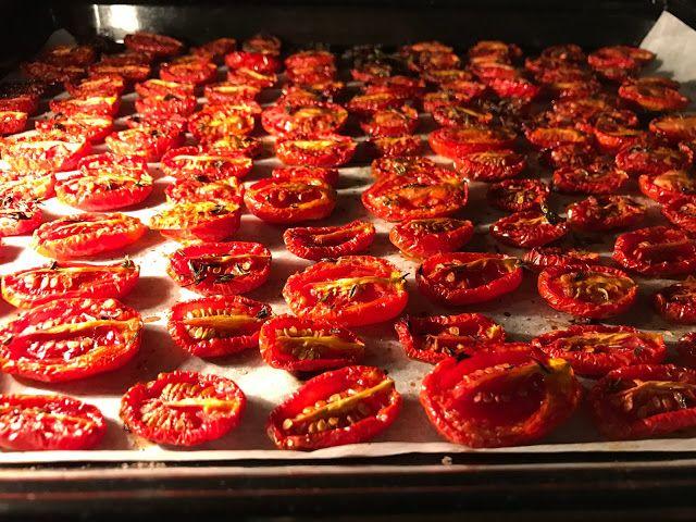 Pomodori Semi Secchi, Rezept