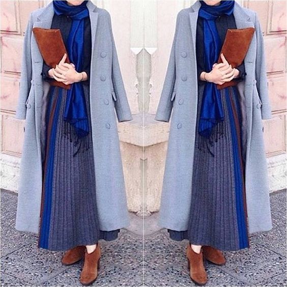 Hijab chic 2017 : 32 Belles idées de look de hijb pratiques à porter tous les jours - astuces hijab