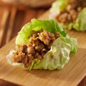 The Chew: Chrissy Teigen's Chicken Lettuce Cups Recipe With Salsa