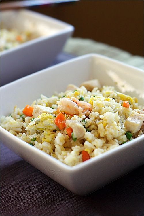10 best chinese images on pinterest chinese cuisine chinese food fried rice easy and delicious chinese fried rice recipe with rice eggs chicken and shrimp ccuart Images