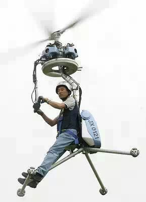 Only for the very brave! Single person helicopter Zombie Escape Option! ;-)