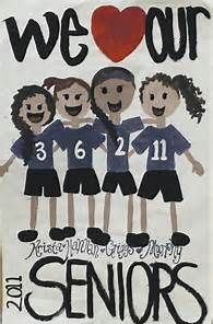 Volleyball Poster Ideas Senior Night On volleyball senior night
