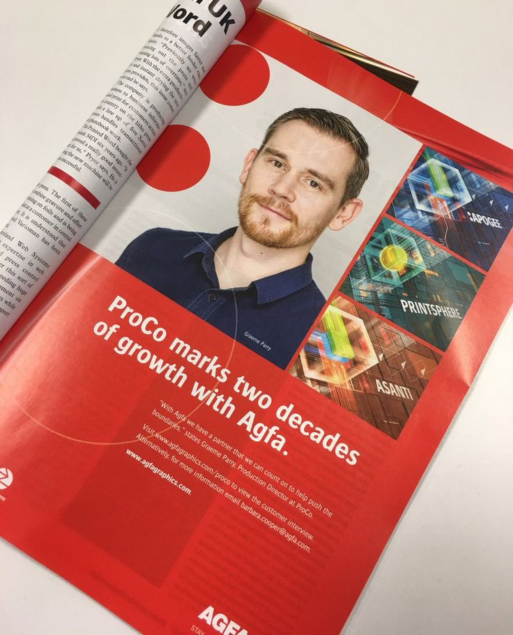 There's a familiar face in Print Business magazine! ProCo Production Director Graeme Parry talks to Agfa