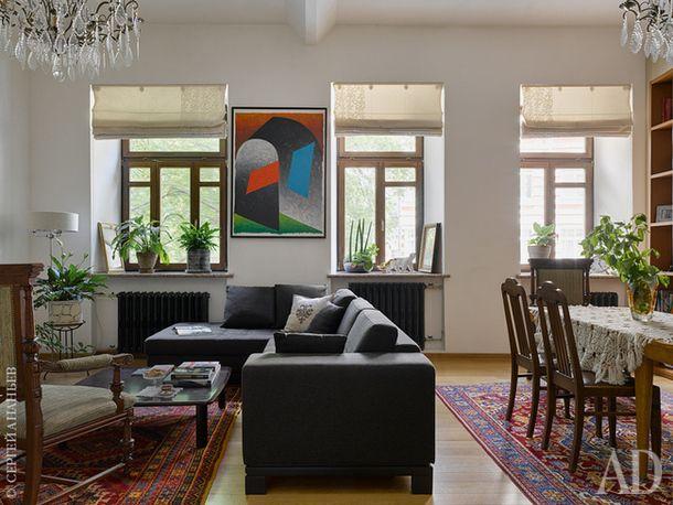 Квартира на Патриках, 156 м²