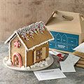 diy gingerbread house kit in Country Living magazine