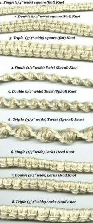 Logos | Hemp Bracelet Pattern | AiveeImages